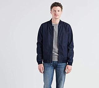 Levi's Erkek Ceket Bomber Jacket Baker Denım Rinse, Mavi, M (Üretici ölçüsü: M)