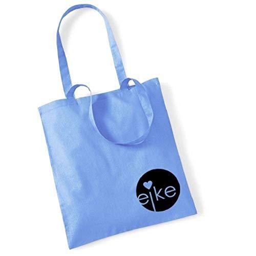 Eike, Borsa a mano donna Blu blu chiaro 42 x 38 cm