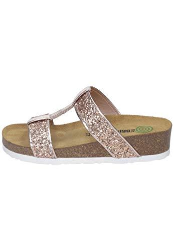 Dr. Brinkmann Schuhe 701278 Damen Keil Clogs Pantoletten, Schuhgröße:39 EU, Farbe:Rosa