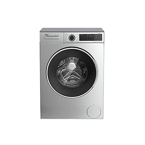 Teka | Lavadora de libre instalación con 15 programas de lavado | Modelo WMT 40720 SS | Eficiencia Energética D | 84.5 x 59.6 x 53.3 | Acero Inoxidable