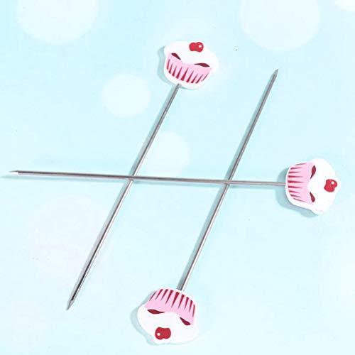 Diantai 3PCS Kuchen Tester Sonden Wiederverwendbare Kuchen Prüfer Nadeln aus Edelstahl Kekse Backtest Nadel DIY Backwerkzeug für Kuchenbrot Muffin