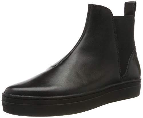 Vagabond Damen Camille Hohe Sneaker, Schwarz (Black/Black 92), 40 EU
