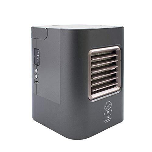 ALYR Personal Condizionatori Ventilatore, Mini USB Portatile Condizionatore Multiuso Raffreddatore d'Aria Refrigeration/Umidificatore/Purificatore d'Aria per la tavola Home Office,Gray