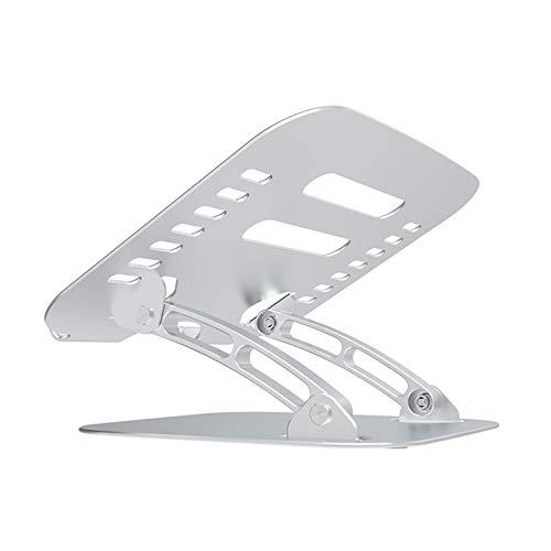 Soporte ajustable para ordenador portátil, ergonómico con ventilación de calor para elevar el portátil, compatible con soporte para portátil de 10.6 x 11.8 pulgadas