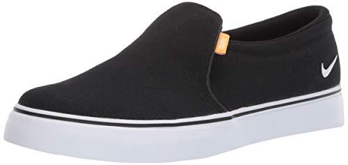 Nike Women's Court Royale AC SLP Sneaker, black/white - gum light brown, 10 Regular US