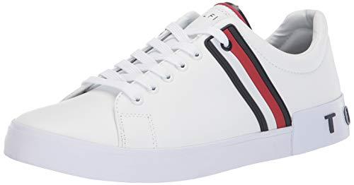 Tommy Hilfiger Men's Ramus Sneaker, White, 11.5