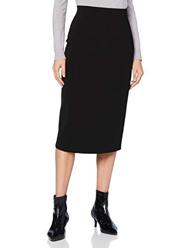 HUGO Nessica 10232625 01 Falda, Negro1, L para Mujer