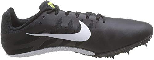 Nike Wmns Zoom Rival S 9, Zapatillas de Running para Mujer, Negro (Black/White/Volt 017), 42 EU