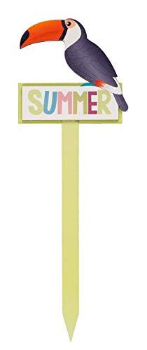Decoratieve steker Summer, ca. 30 x 11 x 0,7 cm.