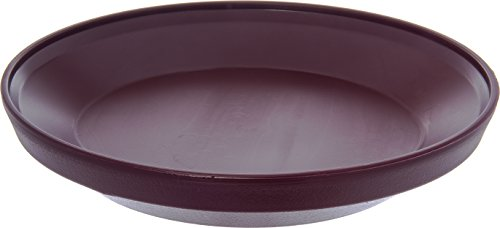 "Dinex DX107761 Urethane Foam Insulated Base, 9-1/2"" Diameter x 1-7/8"" Height, for Insulated Domes, 9.5"" Length, 9.5"" Width, 10"" Height, Cranberry (Pack of 12)"