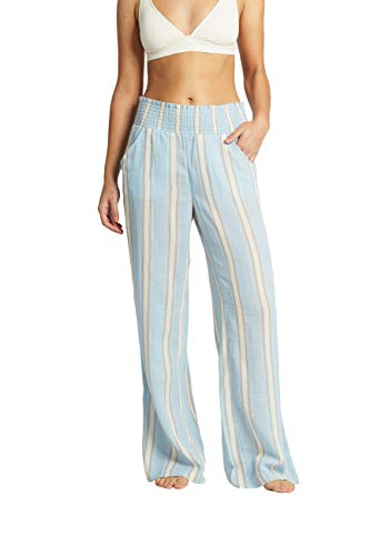 Billabong Women#039s New Waves Stripe Pant Clear Sky S
