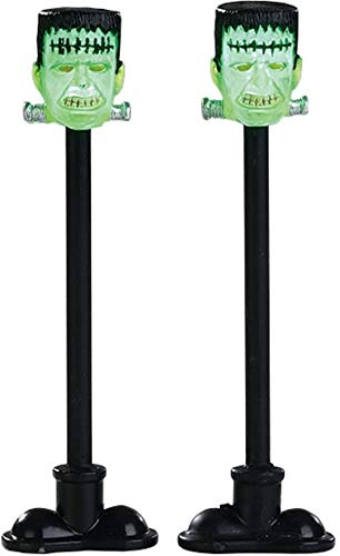 Lemax - Frankenstein Lamp Post - Set of 2