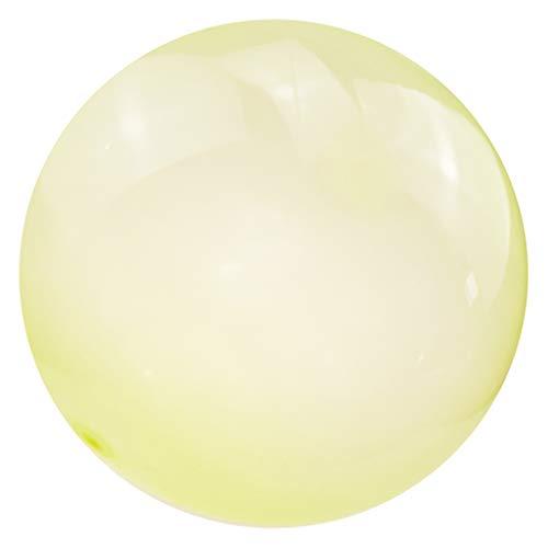 #N/A/a Bubble Ball Divertido Estiramiento Increíble Playa Fiesta de Cumpleaños Juego para Adultos Interactivo - S Amarillo