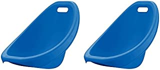 American Plastic Toys Scoop Rocker (Pack of 2) Kids Childrens Chairs (Blue)