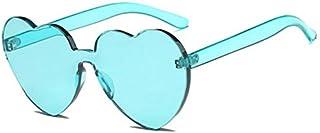 TYJYY Sunglasses Sunglasses Ladies Cute Candy Sunglasses Women Peach Heart Shaped Sunglasses