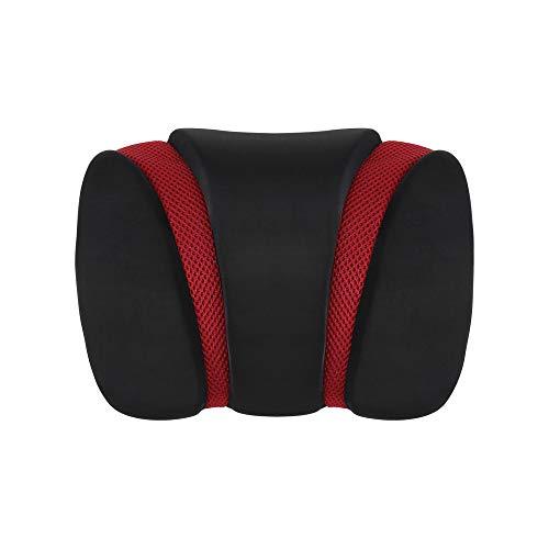 CARIF Car Neck Pillow Red | Car headrest Pillow | Car Pillows for Head | Car seat headrest Pillow | Neck & Cervical Pillows for car | Ergonomic Pillows | Car seat headrest Pillow