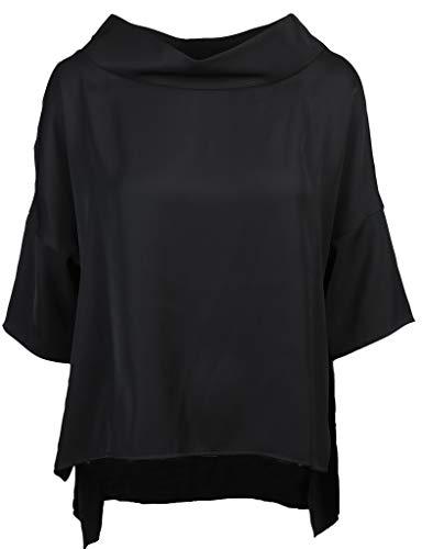 Joseph Ribkoff Damen Bluse Größe 42 EU Schwarz (schwarz)