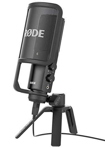 Rode NT-USB Versatile Studio-Quality USB Cardioid Condenser Microphone (Renewed) (MultiColored)
