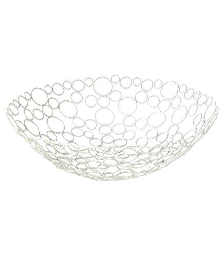 Corbeille à fruits - D 31 cm - Blanc