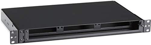 BLACK BOX CORP JPM407A-R5 FIBER RACKMOUNT CABINET Black Box - Fiber-optic splice tray - for P/N: JPM401A-R2, JPM402A-R2