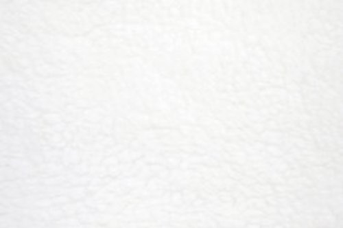 White Fleece Fabric – Sold By The Yard