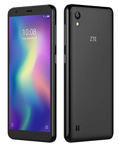 ZTE Blade A5 black (13.84 cm (5.45 Zoll) HD+ Display, 16GB interner Speicher und 1GB RAM, 8MP Hauptkamera, 5MP Frontkamera, Android) Schwarz