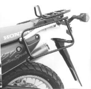 Hepco & Becker - Portaequipajes atornillado para Honda XRV 750 Africa Twin (Modelos a Partir de 1993), Color Negro
