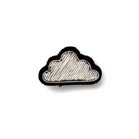 (マコン・エ・レスコア)MACON & LESQUOY BROCHE small silver cloud ブローチ