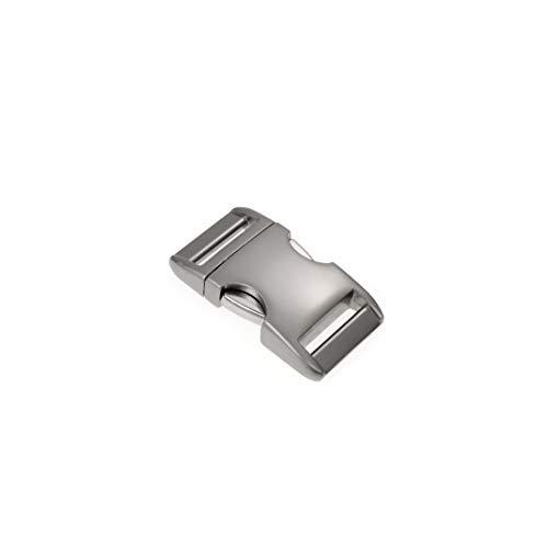 Metall-Klickverschluss Alumaxx, Set aus 2 Stück, 3/8