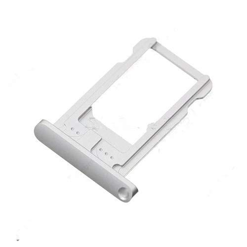 Inzelo Sim Card Slot Tray Holder Replacement for Apple iPad Mini 2 Silver Color