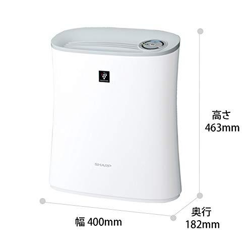 シャープ空気清浄機プラズマクラスター7000スタンダード10畳/空気清浄13畳ウイルス花粉2018年モデルホワイトFU-J30-W