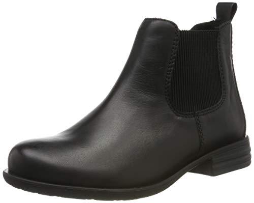 Remonte Damen R0970 Chelsea Boots, Schwarz (Schwarz/Schwarz 01), 42 EU