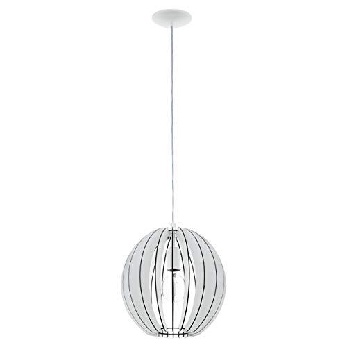 Preisvergleich Produktbild EGLO COSSANO Hängeleuchte,  Stahl,  60 W,  Ø 30 cm,  Weiß
