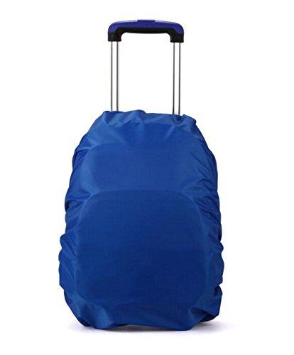 Mackur, Copertura impermeabile per zaino in nylon, antipioggia, per scuola, esterni, escursionismo e campeggio, confezione da 1