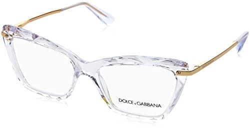 Dolce & Gabbana Dolce & Gabanna DG5025 3133 53 Crystal Woman Cat Eye Eyeglasses