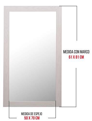 Chely Intermarket - Espejo Pared Cuerpo Entero 50x70cm