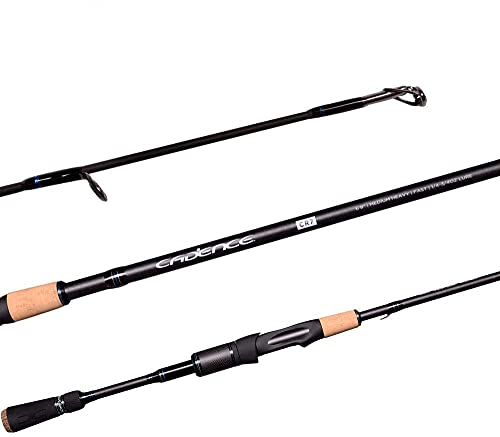 Cadence CR7 Spinning Rod, Fishing Rod with 40 Ton Carbon,Fuji Reel Seat,Durable Stainless Steel...