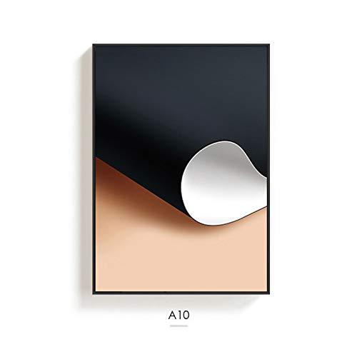 jzxjzx Frameless abstracte woonkamer decoratieve schilderij bank achtergrond muurschildering triptiek