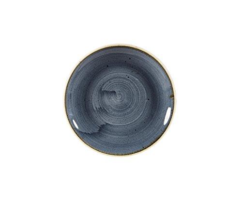 Churchill Stonecast -Coupe Plate Teller- Durchmesser: Ø16,5cm, Farbe wählbar (Blueberry)