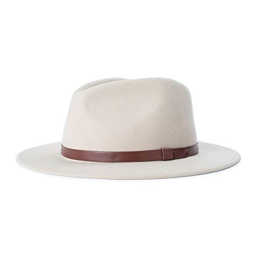 BRIXTON Herren Messer Fedora, Safari, MEDIUM