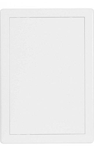 Haco - Tapa con puerta (300 x 400 mm, plástico ASA, con marco)