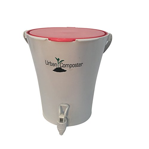 Amazing Deal Exaco Trading Co. UCsmall-R Exaco Urban Composter, 2.1 Gal, Red