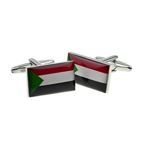 Ashton en Finch Sudan Vlag Manchetknopen