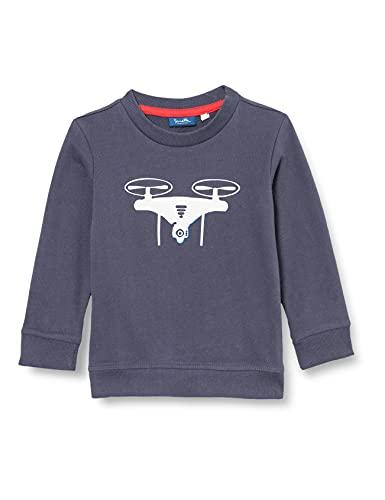 Sanetta Sweatshirt Blau Maglia di Tuta, Blu Scuro, 98 cm Bambino