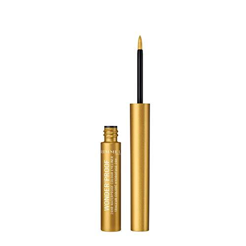 Rimmel London Wonderproof eyeliner, 6.7 g, 007 Shiny Gold (3