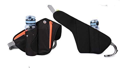 Gimnasio corriendo cinturón jogging cintura paquete bolsa bolsa de deportes 300 ml botellas de agua deportes corredor bolsa de agua titular (Color : A)
