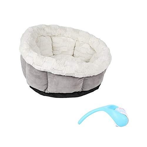 Cozywind Katzenbett Rundes Haustierbett Komfortables weichem Kissen maschinenwaschbar für Katzen/Kleine Hunde, GeschenkFusselrolle für Tierhaare aufräumen - Gura