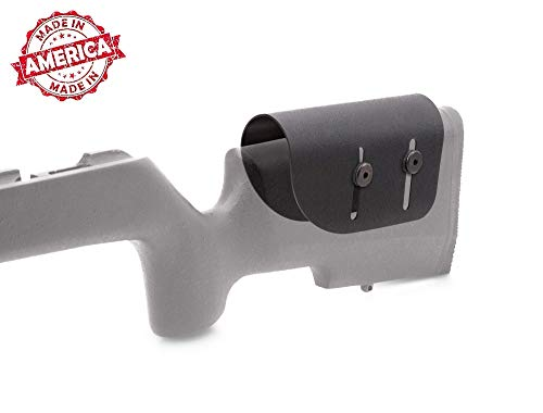 "Elite Kydex Adjustable Cheek Rest Stock Riser .125"" Black for Scoped Rifle"