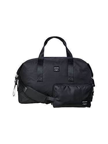 JACK & JONES Damen JACREX WEEKEND & TOILETRY BAG SET Tasche, Black, ONE SIZE