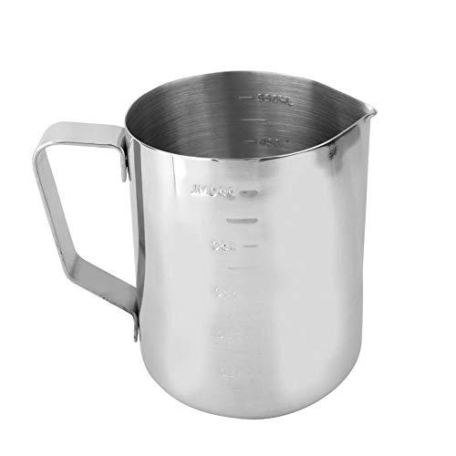 HEEPDD 1 stuk kaars maken gieten pot met schaal en drieloos gieten tuit roestvrij staal was smelten Pitchers Cup kaars maken benodigdheden